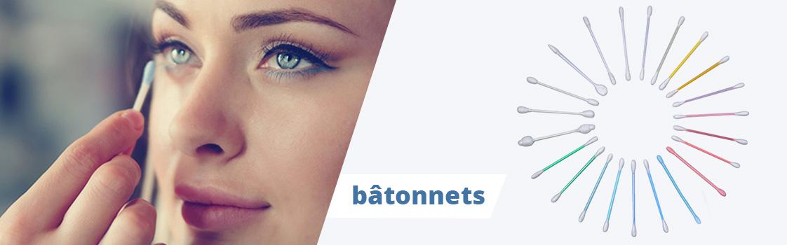 batonnets coton
