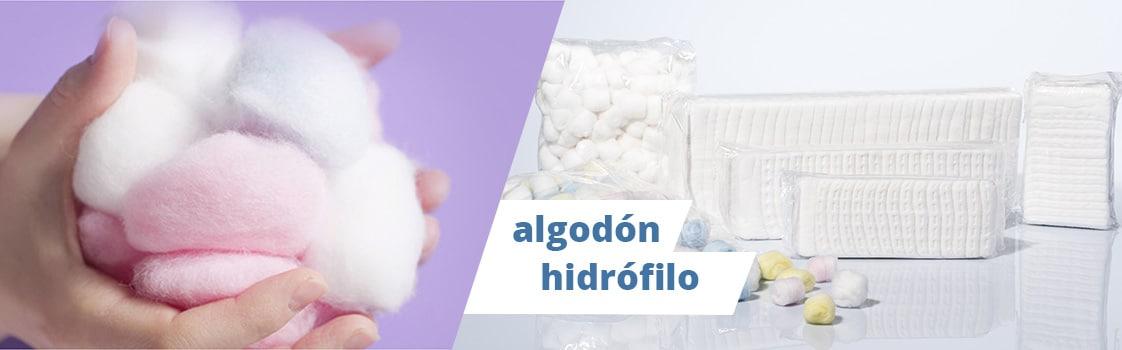 Algodón hidrófilo