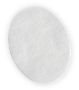 Duo oval pad
