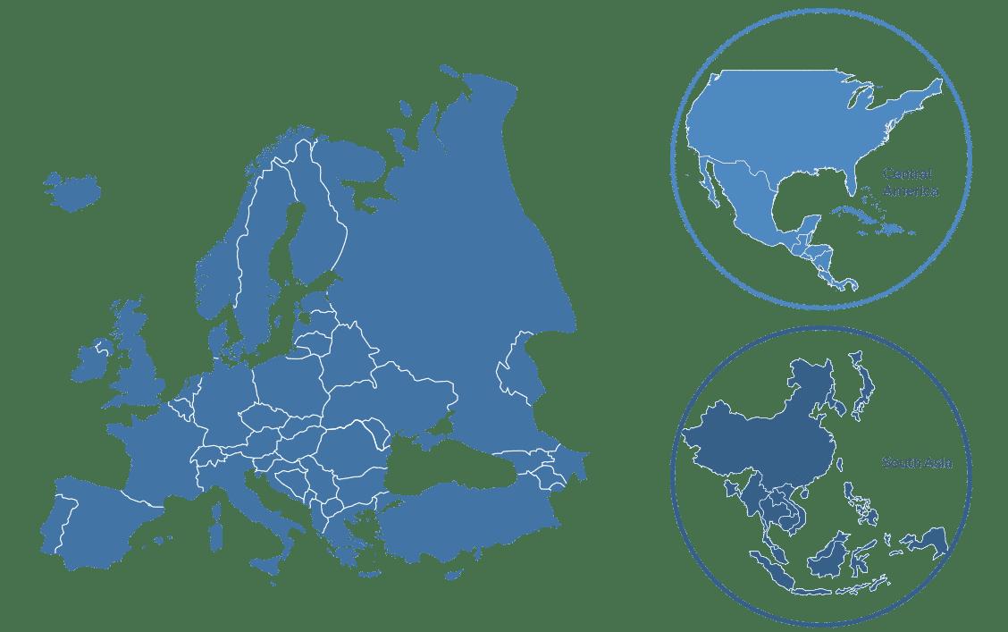 map usines